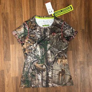 🦌 NWT Under Armour Hunt Scent Control Camo Shirt